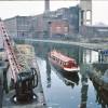 Bridgewater Canal at Trafford Park 1979