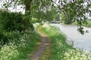 Approaching Kilby Bridge Lock