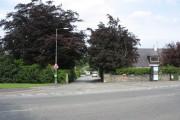 Entrance to the estate village of Llandygai