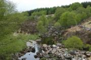 Calmer part of the river above Killichonan