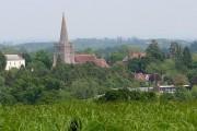 Castlemorton vicarage, church and school