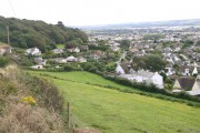 Looking down to Braunton