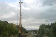 Signal on the Swansea Vale Railway