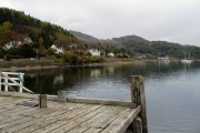 View from the pier at Tignabruaich