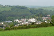 The northerly aspect of the village of Knowle.