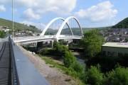 Cymmer  bridge in Porth