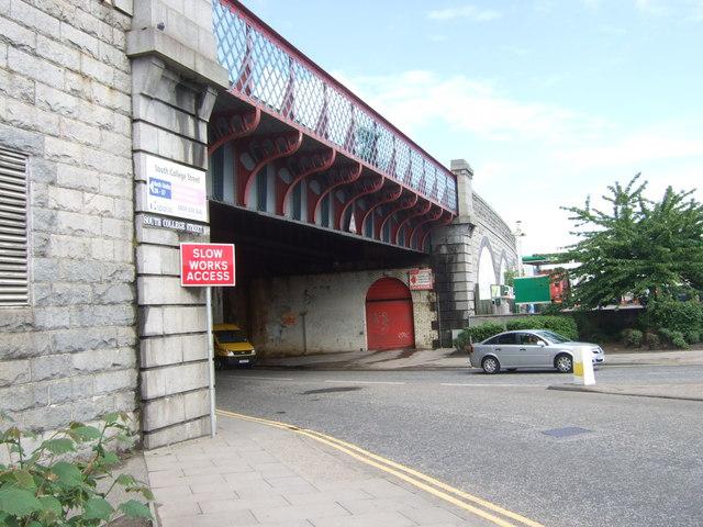 College Street rail bridge