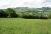 Farmland near Llanfynydd.