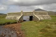 Bridge over the Abhainn Ghriomasdal