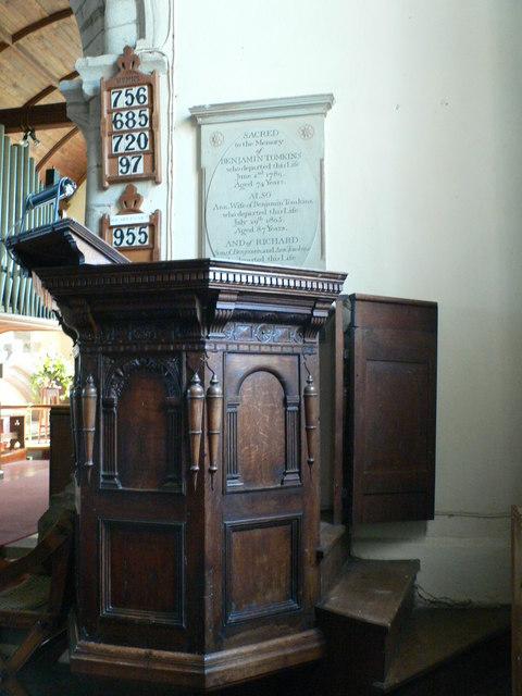 Pulpit, St Margaret of Antioch