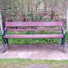 Seat by Droitwich Barge Canal Lock 2