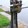 Winding gear at Droitwich Barge Canal Lock 2