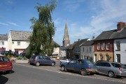 Uffculme: The Square and St Mary's church