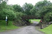 Bridge in Kelburn Park