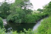 Sidestep on the river Dulais