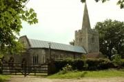 St. Mary; the parish church of Polstead