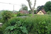 Part of village from All Saints, Tibenham, Norfolk