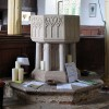 All Saints, Tibenham, Norfolk - Font