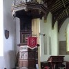 All Saints, Tibenham, Norfolk - Pulpit