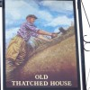 Sign for the Old Thatched House