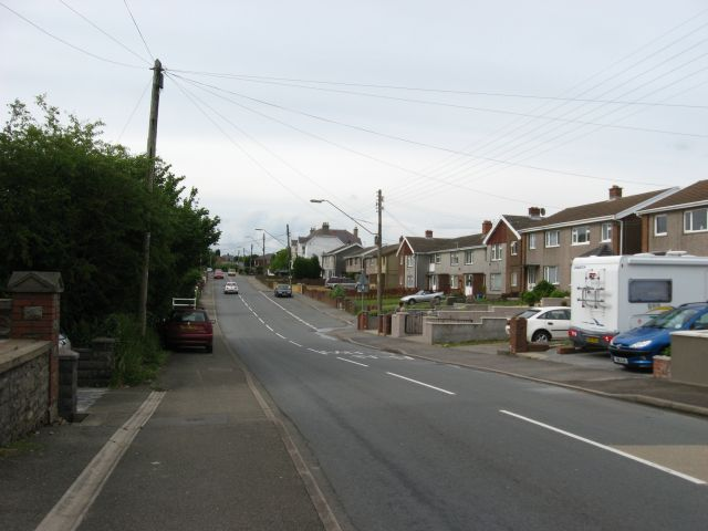 Houses in the south of Pen-y-groes