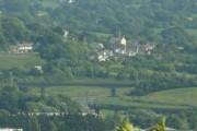 Bishops Tawton viewed from Varley's Farm