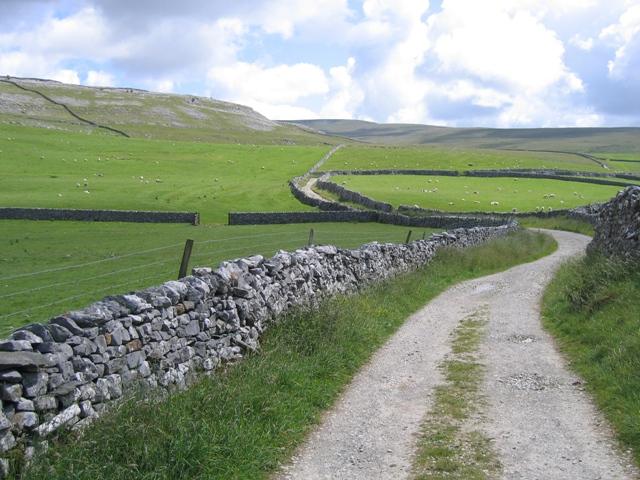 Fell Lane towards Ingleborough