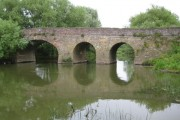 Pershore Bridge over the River Avon