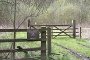 Entrance Gate to Bitholmes and Wantley Dragon Woods