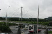 New pedestrian/cycle bridge over the Towy