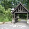 New Whittington - Lych Gate entrance to St.Bartholomew's Church