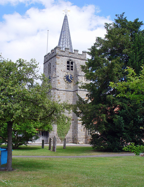 St Lawrence C. of E., Chobham