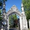 Gate entrance, Hollybrook Cemetery