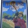 Sign for the Horns Inn