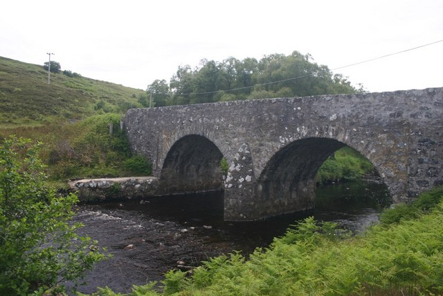 Bridge over River Brora