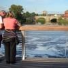 New view of old bridge