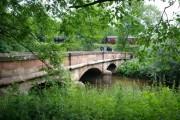 Bridge over the Churnet river