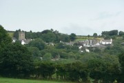 Hennock village and church