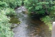 Afon Tawe from the Abercraf bypass bridge