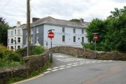 First of three Road Bridges in Ivybridge over the River Erme