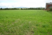 Open view across farmland