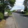 Swindon Lane crosses former railway line