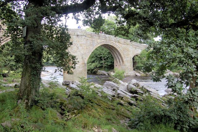 Devil's Bridge over the River Lune.