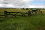 Farmland above the Coln valley