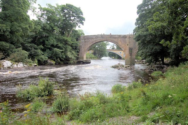 The bridges at Kirkby Lonsdale