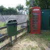 Telephone kiosk at East Lyng
