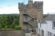 Rear of Dalguise House