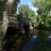 Dean's Court Wimborne - Bridge over the River Allen