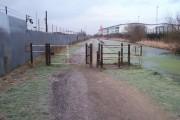 Towpath Barrier - Wyrley & Essington Canal