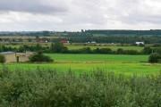 Farmland south of Callow Hill